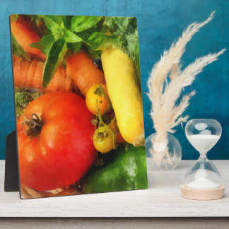Vegetable Medley Plaques