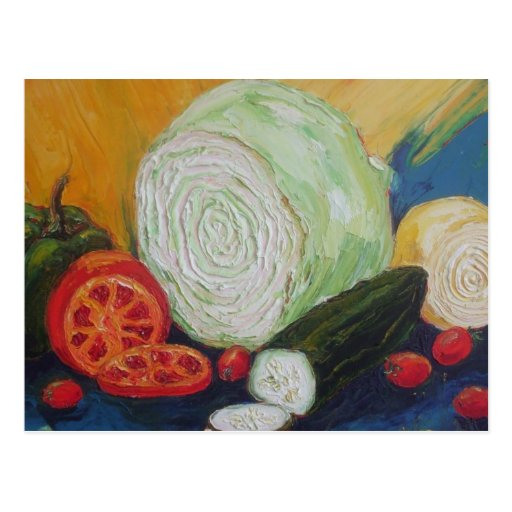 Vegetable Medley Postcard
