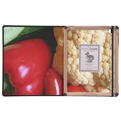 Vegetable Mix iPad Cases