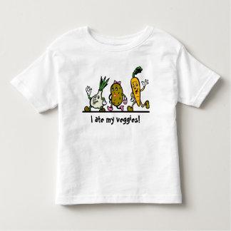 Vegetable Onion Potato Carrot Child's T Shirt