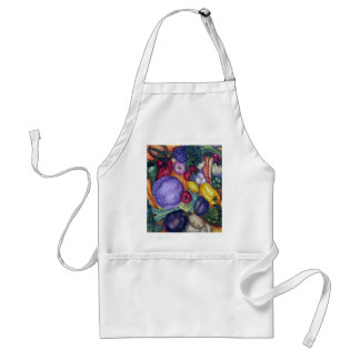 Vegetable painting apron