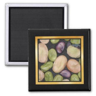 Vegetable Pattern Artwork or Photo Magnet