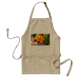 Vegetable Printed Apron