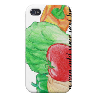 Vegetable Produce iPhone 4 Speck Case