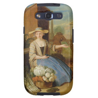 Vegetable Seller, Covent Garden, c.1726 (oil on pa Samsung Galaxy S3 Cover