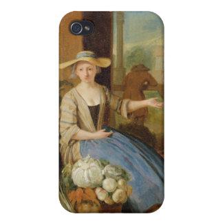 Vegetable Seller, Covent Garden, c.1726 (oil on pa Case For iPhone 4