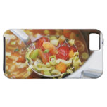 Vegetable soup in pan iPhone 5 case