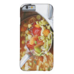 Vegetable soup in pan iPhone 6 case
