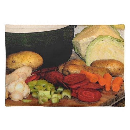 Vegetable Soup Placemat