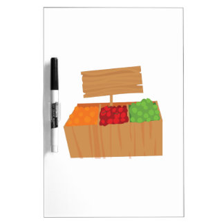 Vegetable Stand Dry-Erase Boards