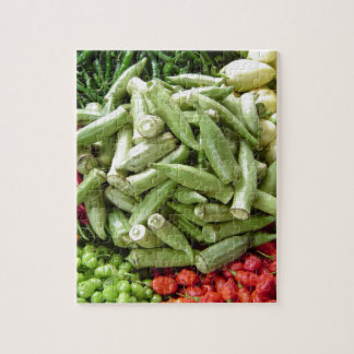 Vegetable Stand in Ghana Africa Jigsaw Puzzles