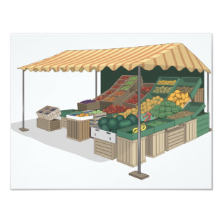 Vegetable Stand Tribute! Card