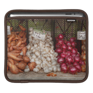 Vegetable - Sweet potatoes Garlic and Onions iPad Sleeves