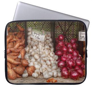 Vegetable - Sweet potatoes Garlic and Onions Laptop Sleeves
