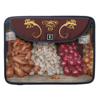 Vegetable - Sweet potatoes Garlic and Onions MacBook Pro Sleeves