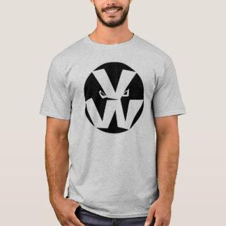 Vegetable Wars Logo in Grey T-Shirt