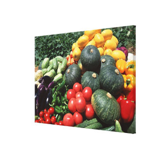 Vegetables 2 canvas print