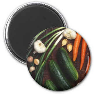 Vegetables 2 Inch Round Magnet
