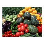 Vegetables 2 postcard