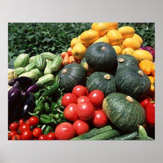 Vegetables 2 poster