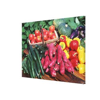 Vegetables 3 canvas print
