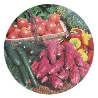 Vegetables 3 plate