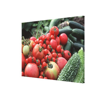 Vegetables 4 canvas print