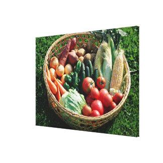 Vegetables 5 canvas print