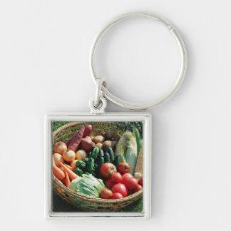 Vegetables 5 keychain