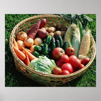 Vegetables 5 poster