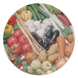 Vegetables 6 dinner plate