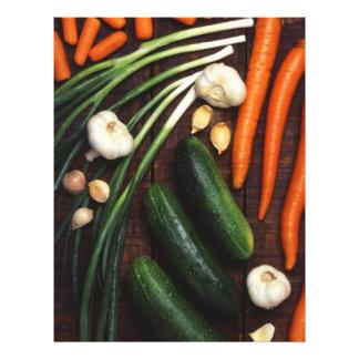 "Vegetables 8.5"" X 11"" Flyer"