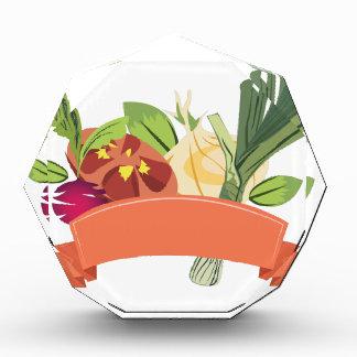Vegetables Acrylic Award