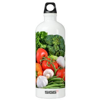 vegetables aluminum water bottle