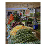 Vegetables And More Vegetables Poster