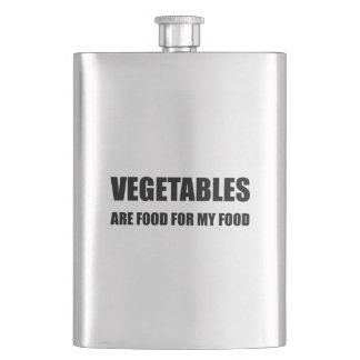 Vegetables Are Food For My Food Flask