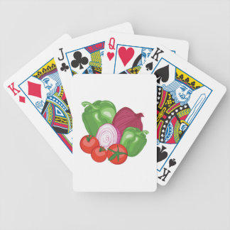 Vegetables Bicycle Playing Cards