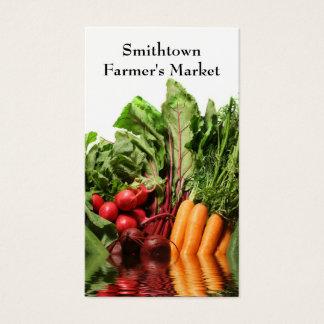 Vegetables Business Card