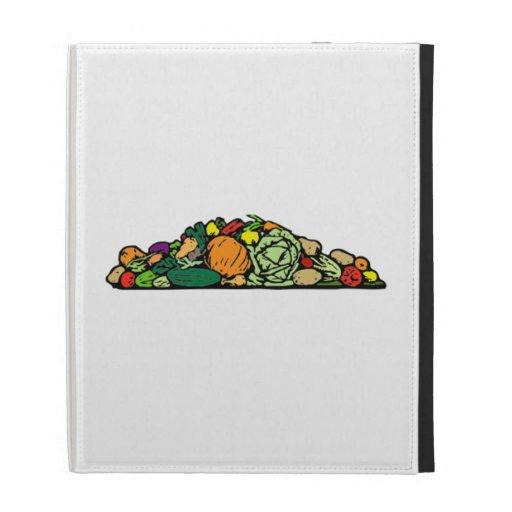 Vegetables iPad Cases