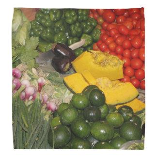 Vegetables Fresh Ripe Garden Mixed Harvest Market Bandana