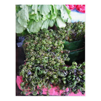 Vegetables from Kuchin Postcard