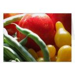 Vegetables Greeting Card