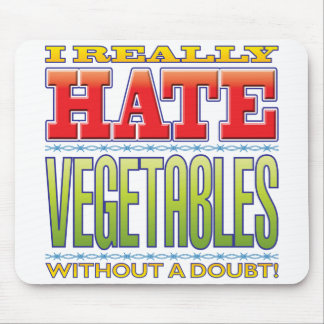 Vegetables Hate Mouse Mat