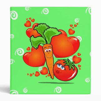 Vegetables in love, binder