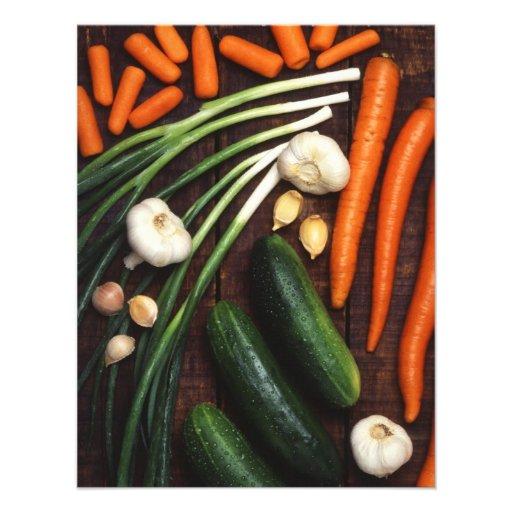 Vegetables Invites