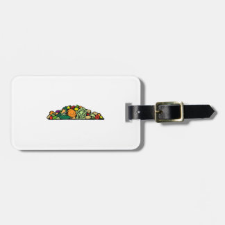 Vegetables Tag For Bags