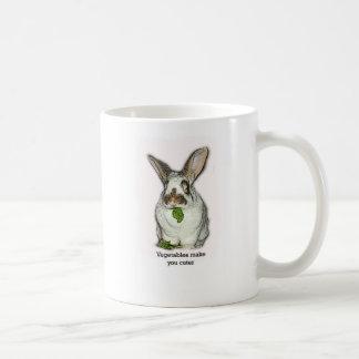 Vegetables Make You Cuter Coffee Mug