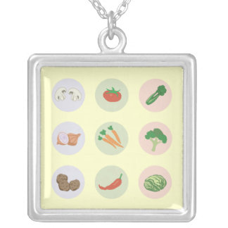 Vegetables Necklace