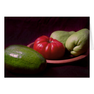 Vegetables of the Tropics Card