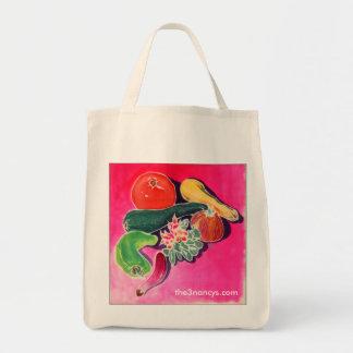 Vegetables Organic Tote Bags